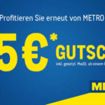 25€ Gutschein für Metro bis 14.12.2019 ab 100€ Einkauf