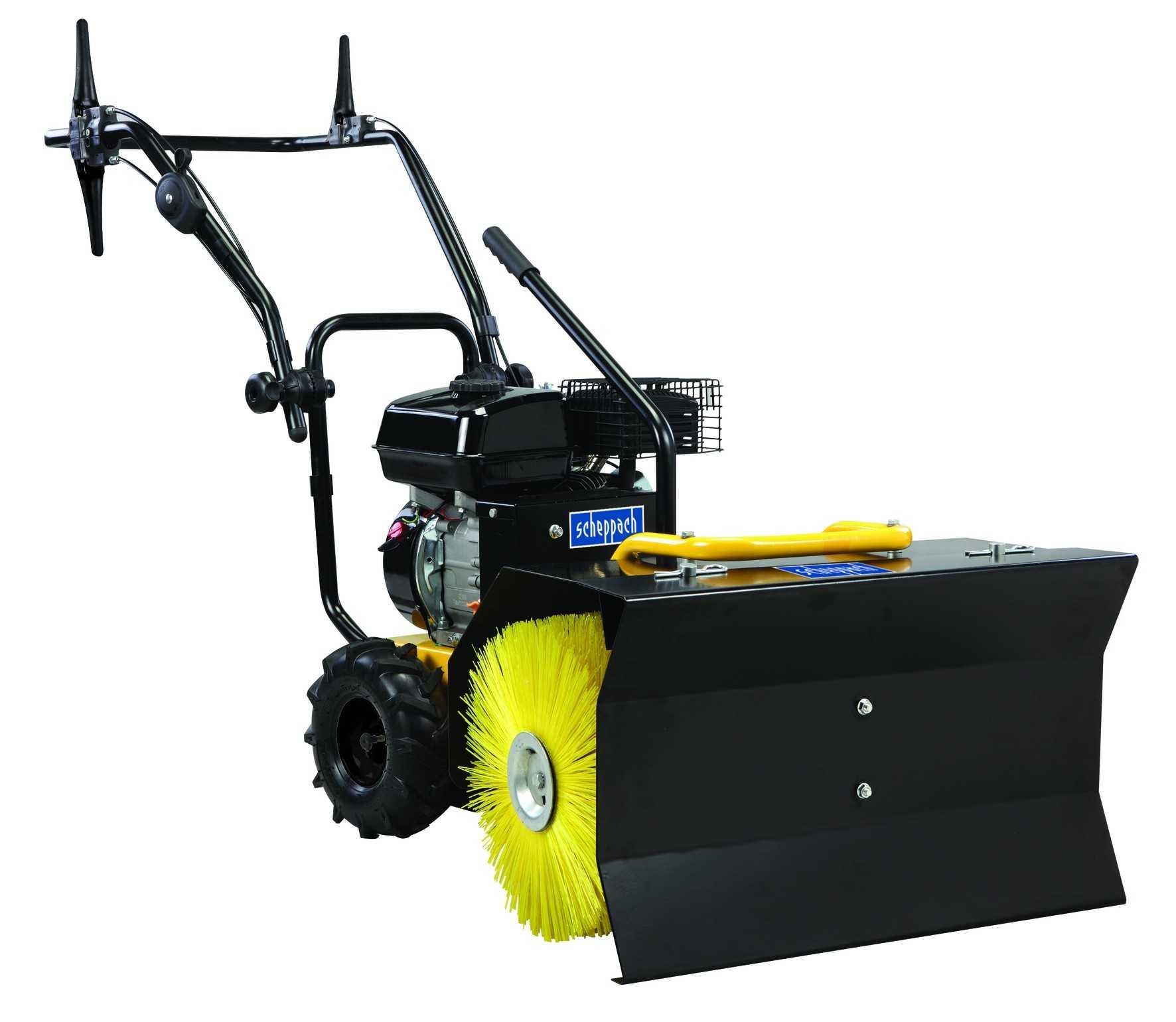 2 1018323 Scheppach SC2400P Kehrmaschine mit Samm 1