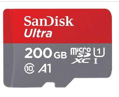 2x sandisk ultra microsdxc 200 gb speicherkarte kl 10 uhs 1 inkl sd adapter fuer 11198 statt 146e