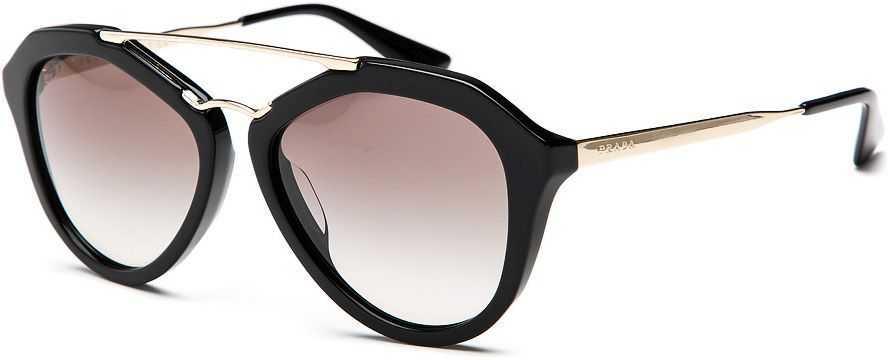 3591015317 Prada Sonnenbrille SPR13Q A  UV 400  golden schwarz  grey gradient  black 3