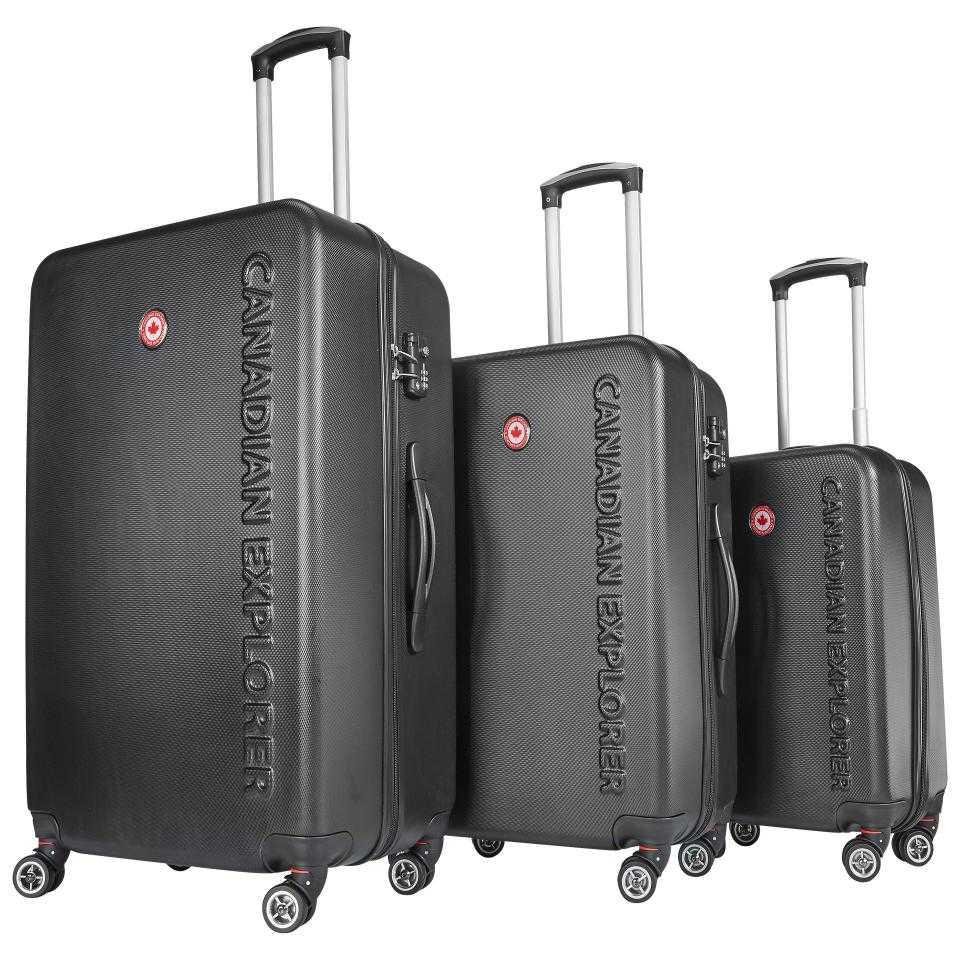 3teiliges koffer set canadian explorer daenisches bettenlager