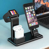 4 in 1 docking station fuer airpods apple watch und iphone fuer 2159e