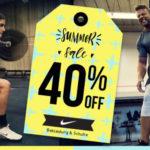 40% auf alle Nike Artikel bei mysportswear + 5€ Gutschein für die Newsletteranmeldung
