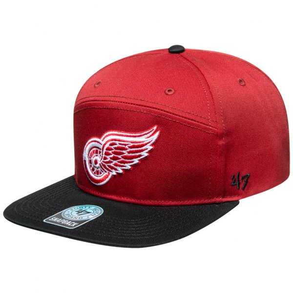 47 brand detroit red wings nhl cap razor snapback kappe 012863 2240845