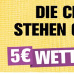 5€ Freebet bei Interwetten