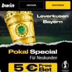 Bayer 04 Leverkusen – FC Bayern München - 5€ FreeBet für 10€-Wette auf LEV- FCB für Neukunden bei bwin