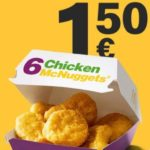 6 Chicken McNuggets bei McDonald's
