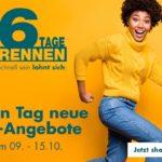 6 Tage Rennen bei Galerie: Bis zu 40€ Staffelrabatt