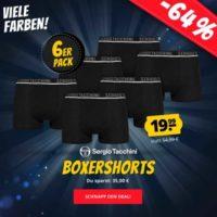 6er PackSergioTacchiniHerrenBoxershorts