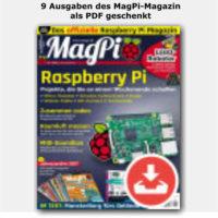 9 ausgaben des magpi magazin als pdf geschenkt bei chip de 1