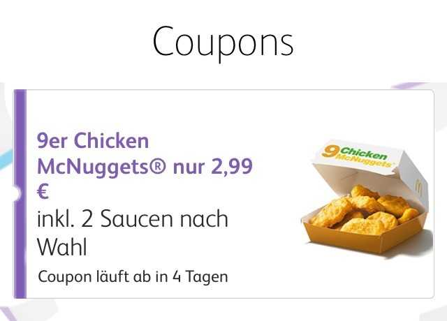 9er nuggets fuer 299e statt 479 1