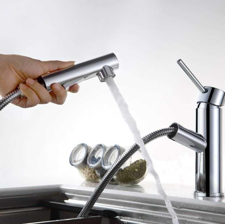 Wasserhahn Mit Herausziehbarer Spulbrause Mytopdeals