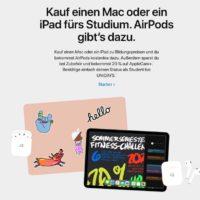 AppleBacktoSchoolAktionstartetheute GratisAirpodsbeiKaufeinesMacoderiPad