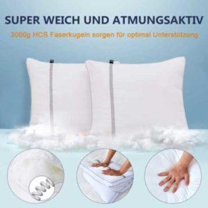 BedStory2erSetsuperweichMikrofaserKopfkissen