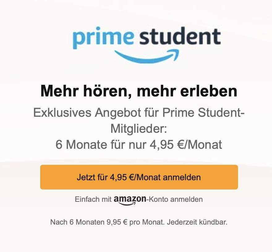 Audible Studenten