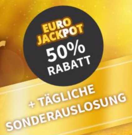 Eurojackpot Rabatt
