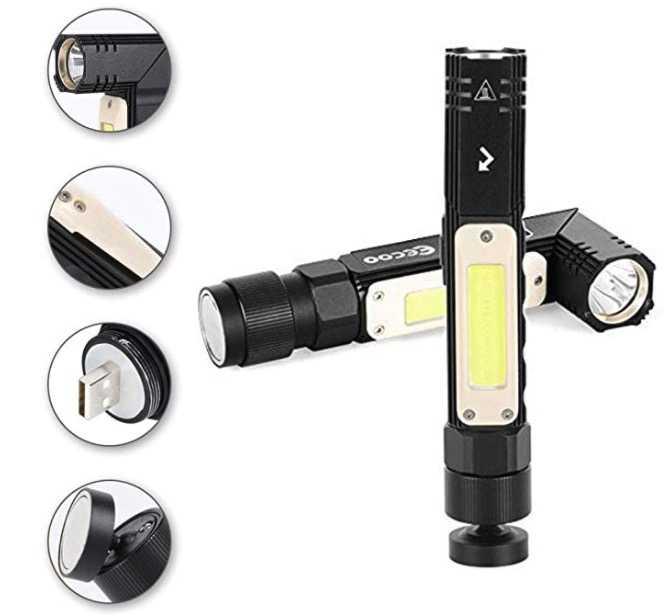 EecooLED Taschenlampemit800lm