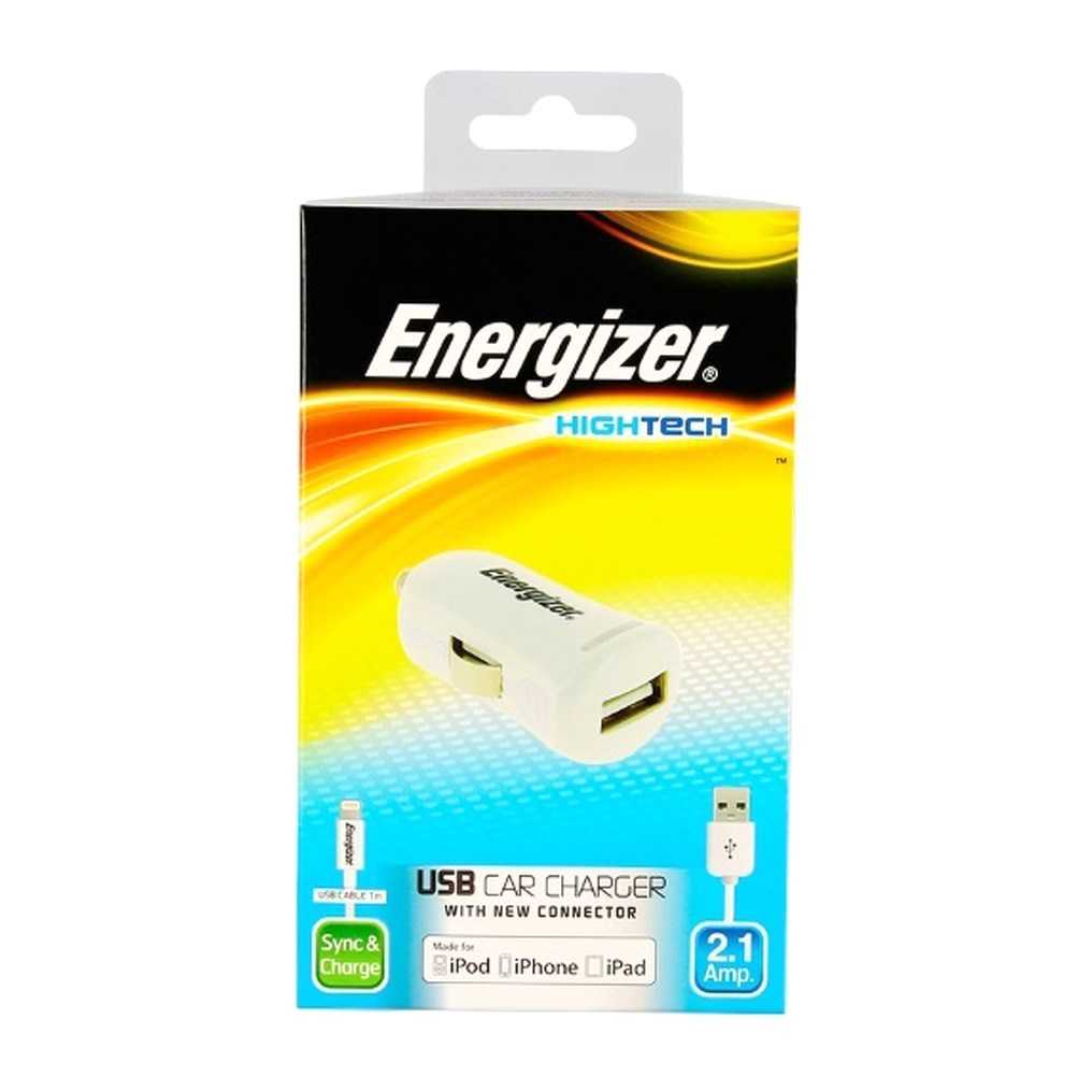 Energizer DC1UHIP5 Car Charger White Made for iPhone 115342 3 14336 2