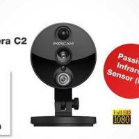 Foscam Indoor IP Kamera C2   schwarz