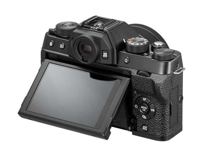Fujifilm X T100 mit XC 15 45mm