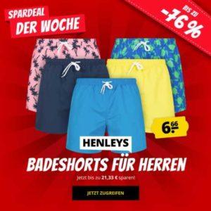 HenleysBadeshortsfuerHerren