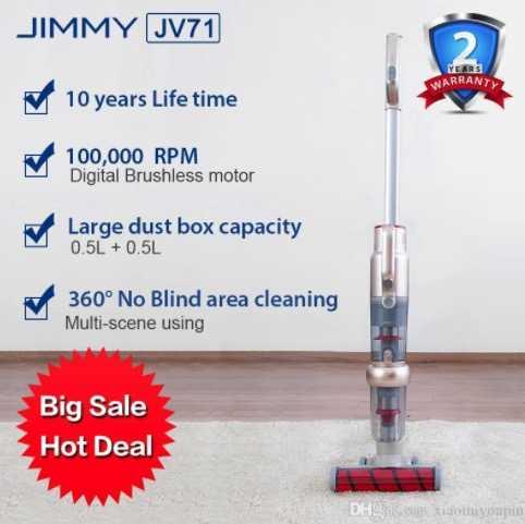 JIMMYJV71UprightHandheldCordlessVacuumCleaner