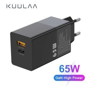 KUULAA GaN 65W font b USB b font C font b Charger b font Quick Charge