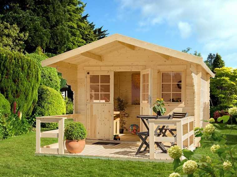 LUOMAN Set  Gartenhaus Lillevilla 265 BxT  350x440 cm inkl. Terrasse Vordach und Fuszligboden 93752954 c344 51c5 beef 97899265fdd1