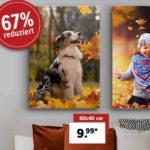 Eigenes Bild auf Leinwand / Acrylglas (60x40 cm) für 14,98€ bzw. 17,98€ (inkl. Versand)