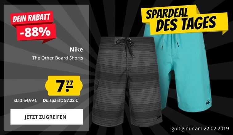 Nike Board Shorts 7 77 Euro
