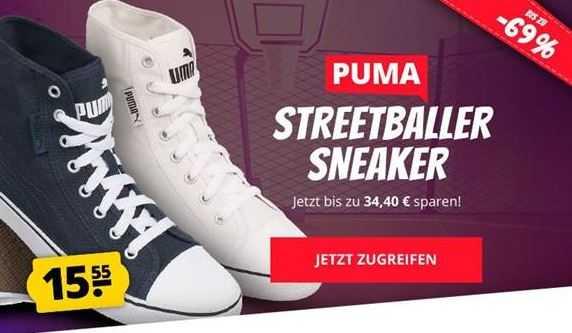 Puma Streetballer Mid Unisex Sneaker