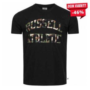 RUSSELLCamoLogoHerrenT ShirtA9 077 2T 099