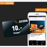 Saturn 10 Euro bei App Einkauf