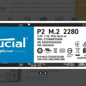 Screenshot 2021 02 09CrucialP2M2NVMe2TB