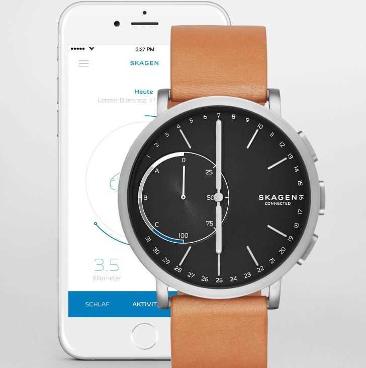 Skagen Connected Hybrid Smartwatch Herrenuhr SKT1104