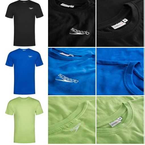 Speedo Team Kit Herren Trainings T Shirts f r nur je 5 99 Euro
