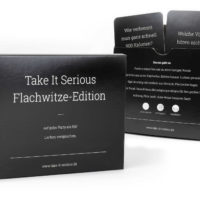 TakeItSerious Flachwitze Edition   Front Back