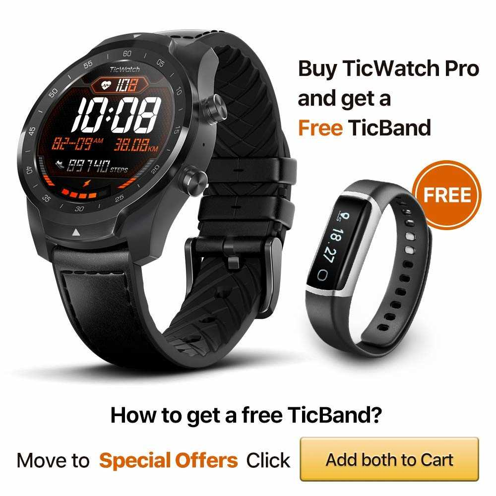 TicWatch Pro TicBand