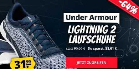 Under Armour Lightning 2 Laufschuhe