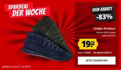 Under Armour Veloce Herren Leder Schuhe