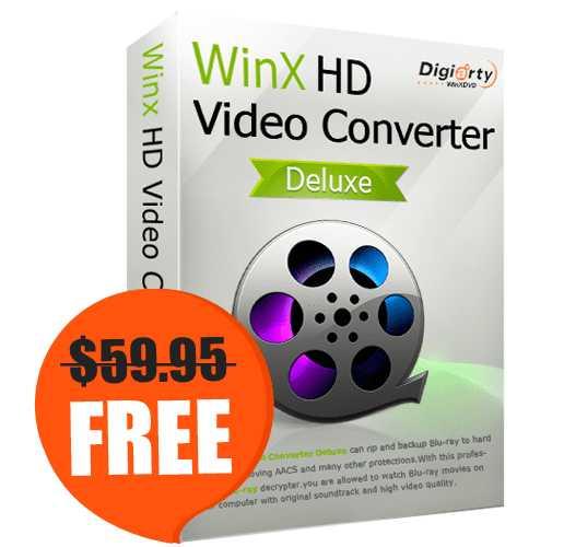 WinX HD Video Converter Deluxe BOX
