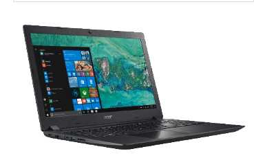 acer aspire 3 a315 51 39us notebook mit 15 6 zoll display core i3 prozessor 8 gb ram 1 tb hdd hd grafik 520 fuer 333 euro statt 399 euro