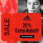 Adidas Sale bis zu 50% Rabatt + 20% Rabatt on top