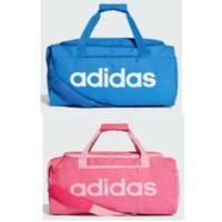 adidas linear core duffelbag s in blau oder rosa fuer 1223e statt 22e 1