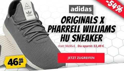 adidas x Pharrell Williams HU Sneaker