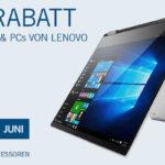 Aktion bei Cyberport: 50€ Rabatt auf Lenovo Notebooks!