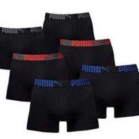 amazon blitzangebot puma herren boxershort basic limited black edition als 6er set fuer 2999 e statt 3695 e