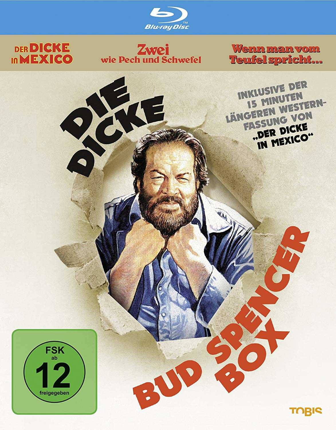 amazon die dicke bud spencer box 3 blu rays
