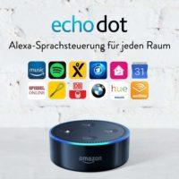 amazon echo dot 2 generation intelligenter lautsprecher mit alexa schwarz 3999 e