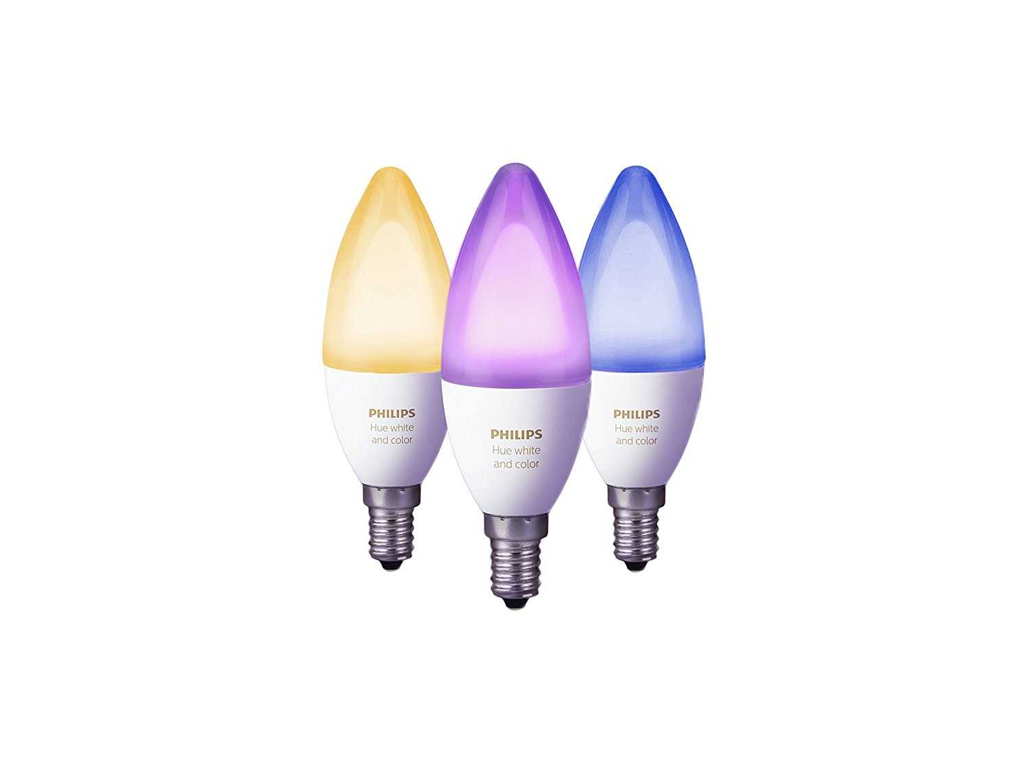 amazon es philips hue white and color ambiance dreierpack e14